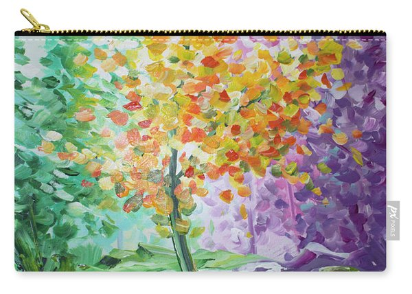 Splash Tree Carry-all Pouch