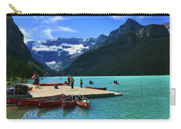 Splendid Beauty Of Lake Louise Carry-all Pouch