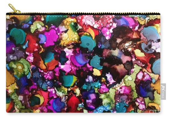 Carry-all Pouch featuring the painting Splendor by Denise Tomasura