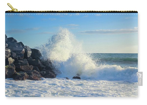 Carry-all Pouch featuring the photograph Splish Splash by Alison Frank