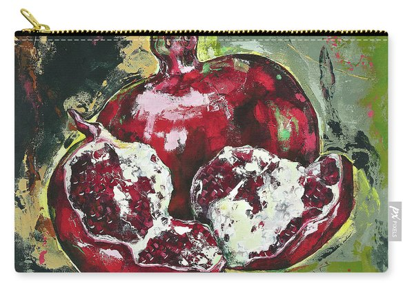 Split Pomegranate Carry-all Pouch