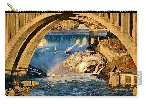 Spokane Monroe Street Bridge Carry-all Pouch