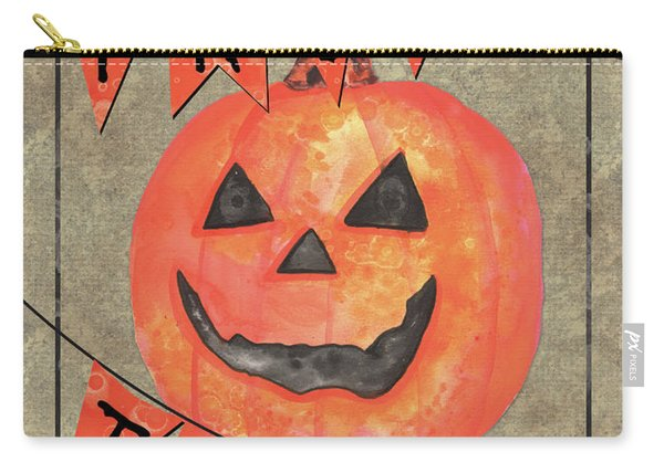 Spooky Pumpkin 1 Carry-all Pouch