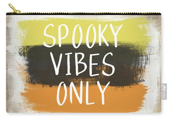 Spooky Vibes Only- Art By Linda Woods Carry-all Pouch