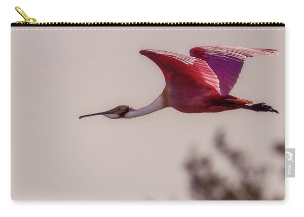 Spoonbill Carry-all Pouch