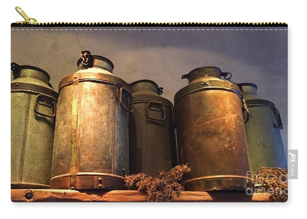 Spotlight On Old Milk Cans  Carry-all Pouch