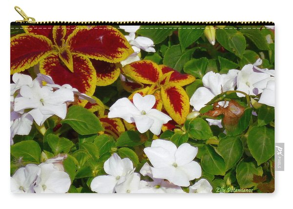 Spring Annuals Carry-all Pouch
