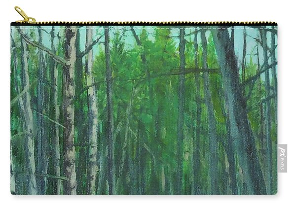 Spring Aspens Carry-all Pouch