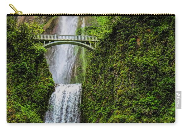 Spring At Multnomah Falls Carry-all Pouch