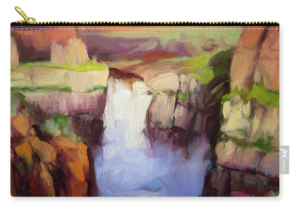 Spring At Palouse Falls Carry-all Pouch
