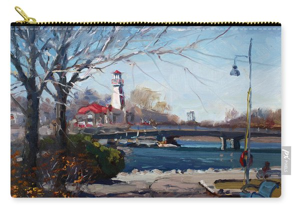 Spring At Port Credit Carry-all Pouch
