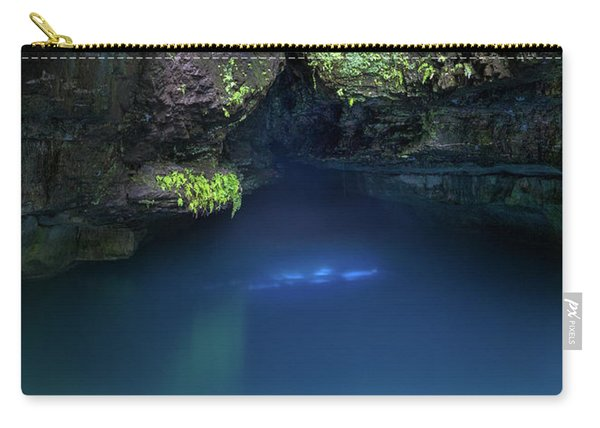 Carry-all Pouch featuring the photograph Spring At Roaring River by Allin Sorenson
