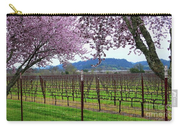 Spring Blossoms Near Calistoga Carry-all Pouch
