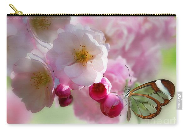 Spring Cherry Blossom Carry-all Pouch