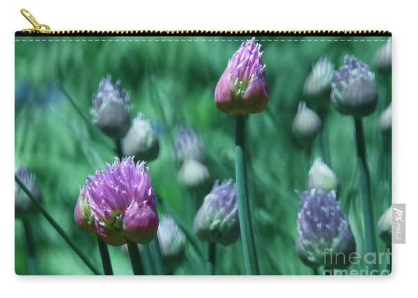 Spring Chives Carry-all Pouch