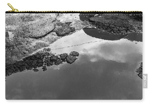 Spring Clouds Puddle Reflection Carry-all Pouch