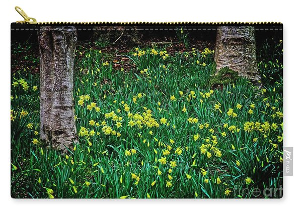 Spring Daffoldils Carry-all Pouch