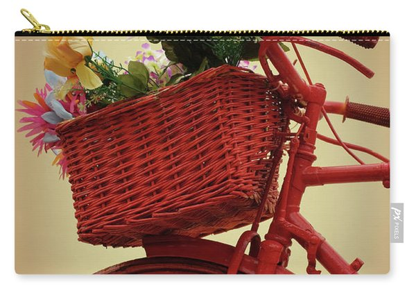 Spring Flower Bike Carry-all Pouch