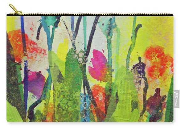 Spring Flowers Carry-all Pouch