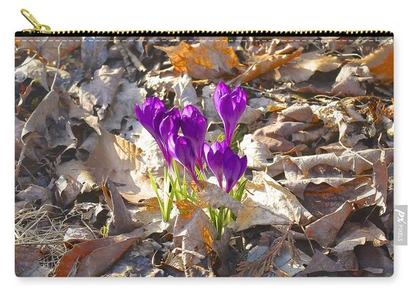 Spring Gathering Carry-all Pouch