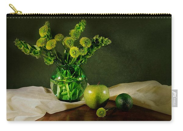 Spring Green Carry-all Pouch