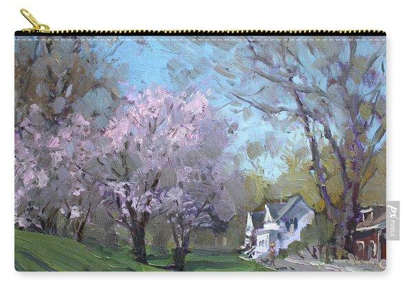 Spring In J C Saddington Park Carry-all Pouch