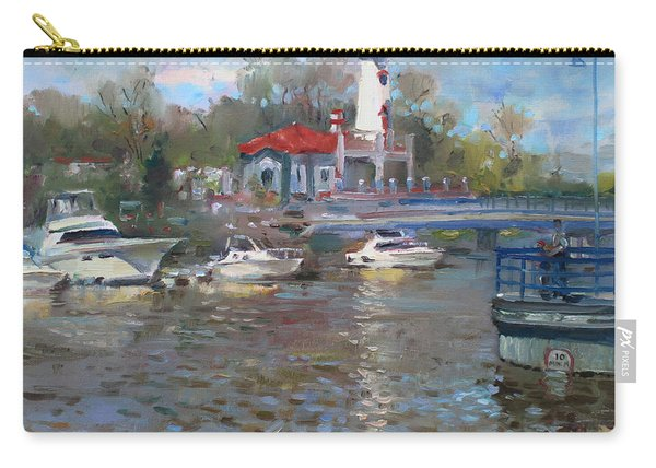 Spring In Lake Shore Carry-all Pouch