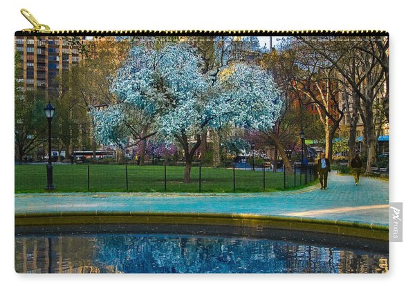 Spring In Madison Square Park Carry-all Pouch