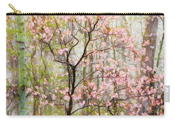 Spring In The Forest Carry-all Pouch