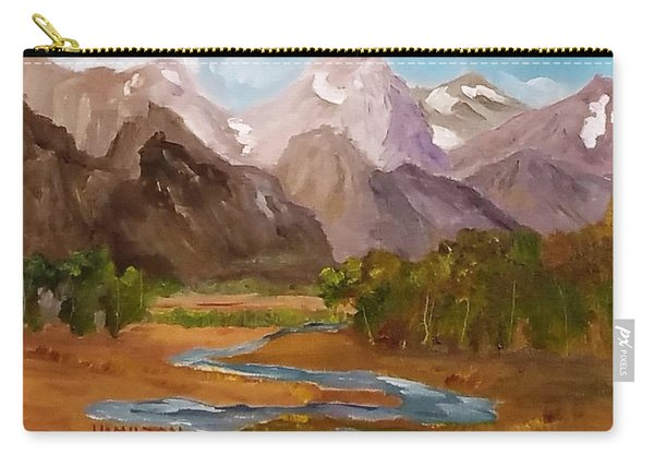 Spring In The Tetons Carry-all Pouch