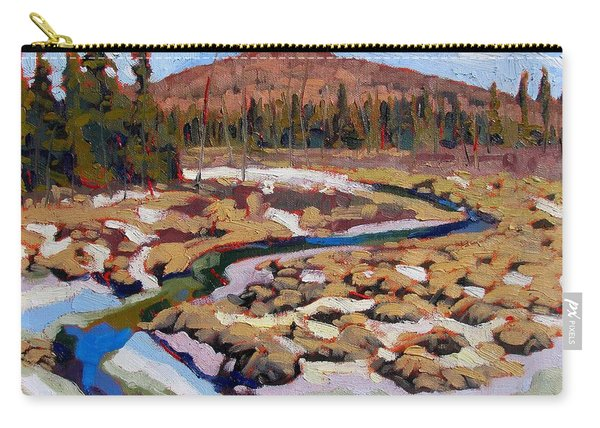 Spring Marsh Algonquin Carry-all Pouch