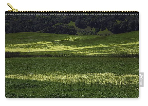 Spring Meadows Of Wildflowers Carry-all Pouch
