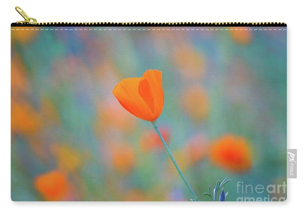 Spring Poppy Carry-all Pouch
