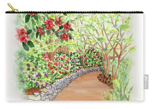 Spring Rhodies Carry-all Pouch