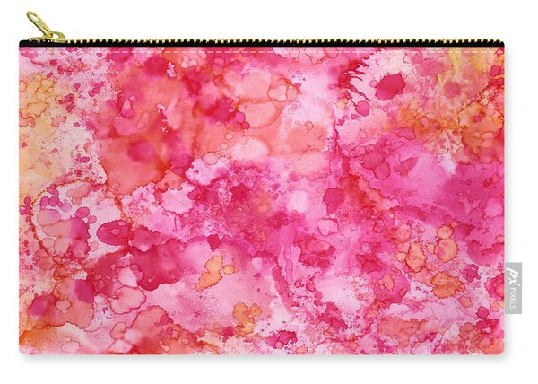 Spring Rose Abstract Carry-all Pouch