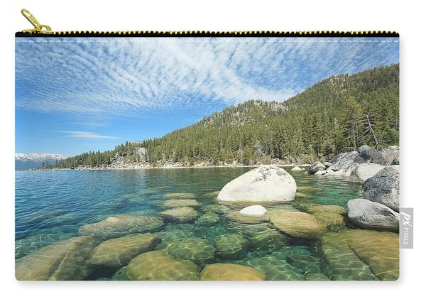 Carry-all Pouch featuring the photograph Spring Shores  by Sean Sarsfield