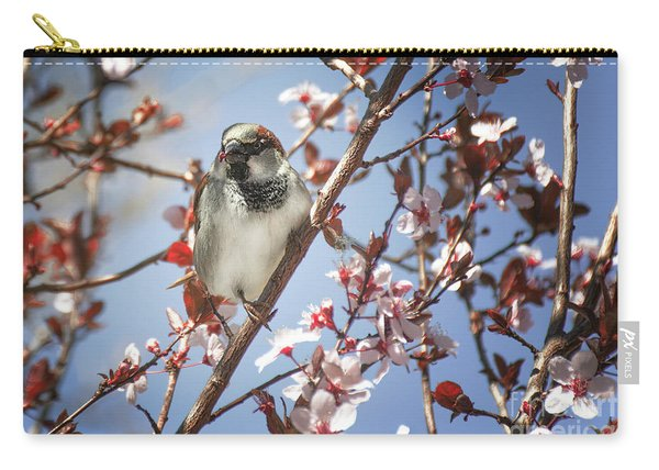 Carry-all Pouch featuring the photograph Good Place For A Snack by Susan Warren