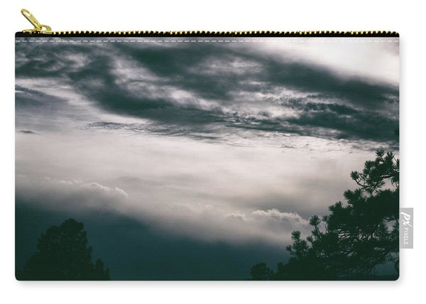 Carry-all Pouch featuring the photograph Spring Storm Cloudscape by Jason Coward