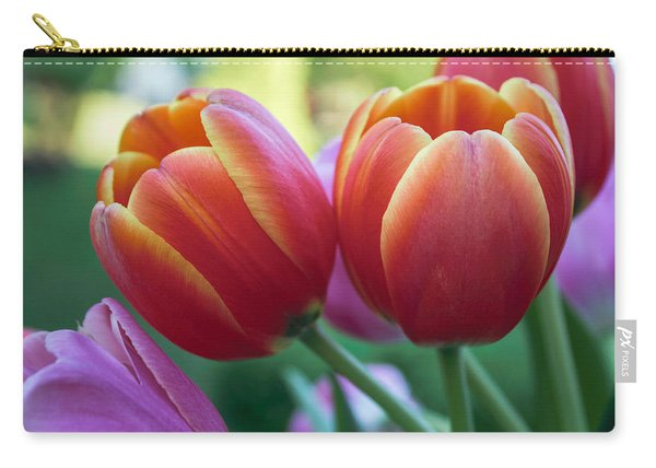Spring Tulip Bouquet Carry-all Pouch