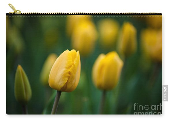Spring Tulips Yellow Carry-all Pouch