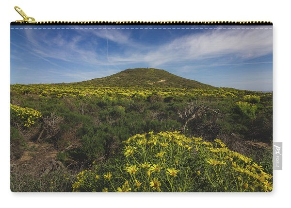 Spring Wildflowers Blooming In Malibu Carry-all Pouch