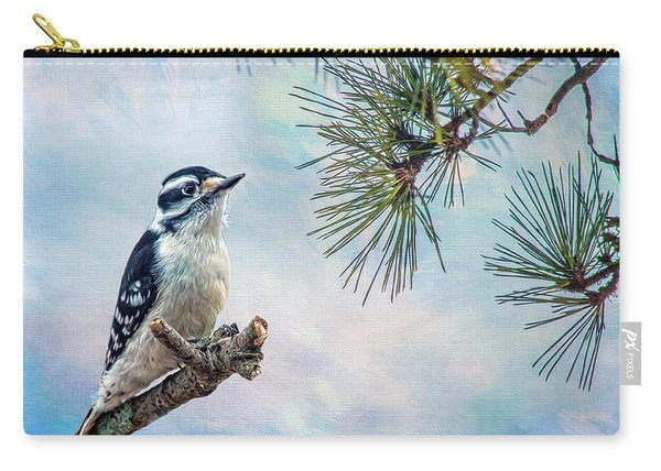 Spring Woodpecker Carry-all Pouch