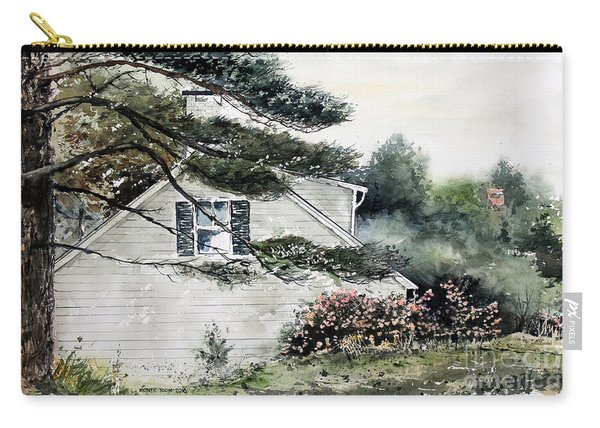 Springtime At Round Pond Maine Carry-all Pouch