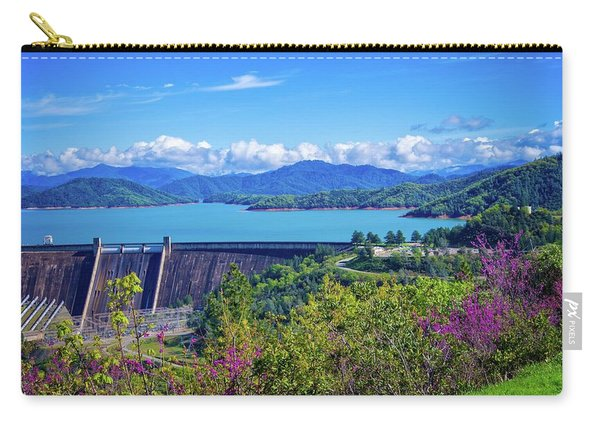 Springtime At Shasta Lake Dam Carry-all Pouch
