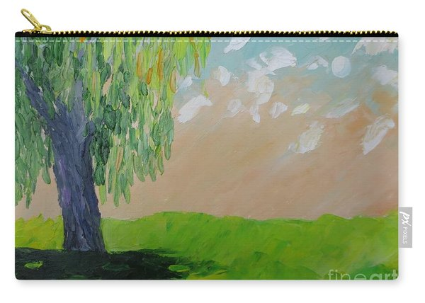 Springtime Willow Carry-all Pouch