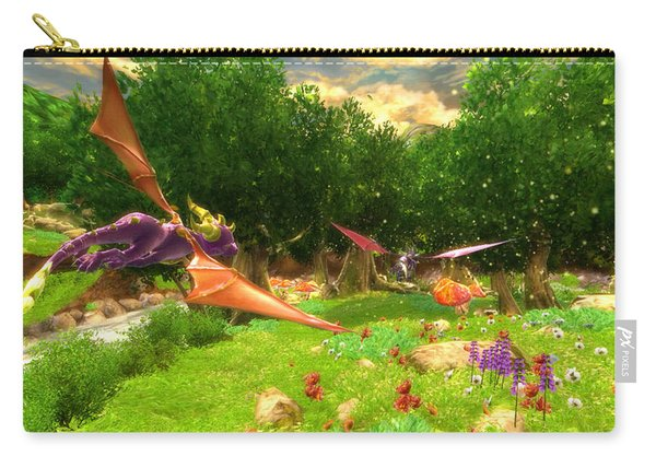 Spyro The Dragon Carry-all Pouch