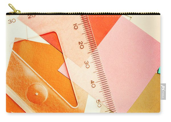 Squaring A Triangular Rule Carry-all Pouch