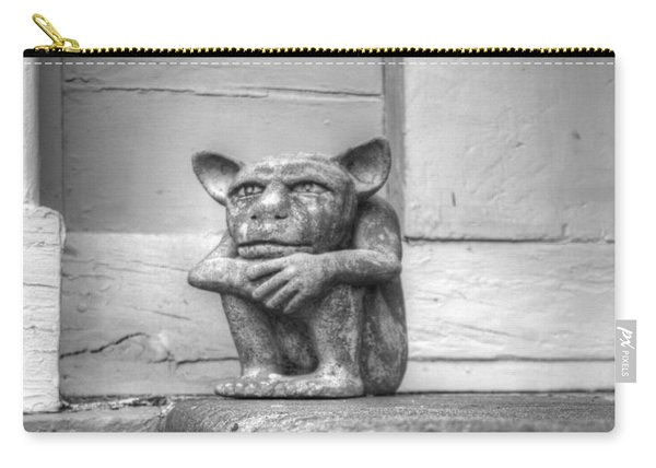 Carry-all Pouch featuring the photograph Squatter by Michael Colgate