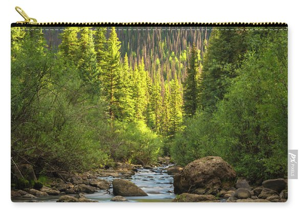 Squaw Creek, Colorado #2 Carry-all Pouch