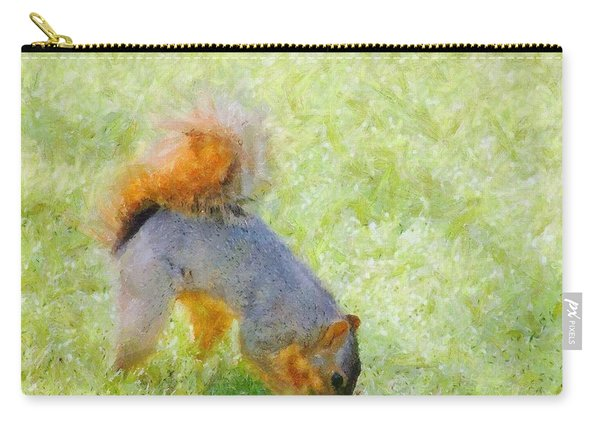 Squirrelly Carry-all Pouch